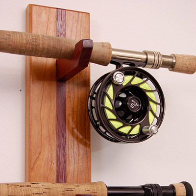 Custom Fly Fishing Cabinets From New Hamphire Solid